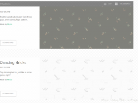 建站必备:一个很棒的html背景图片网站