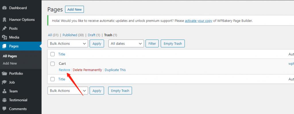「教程」如何快速删除不需要的WordPress页面